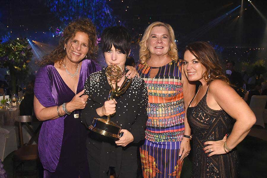 Diane Warren and her 2016 Emmy for Best Song