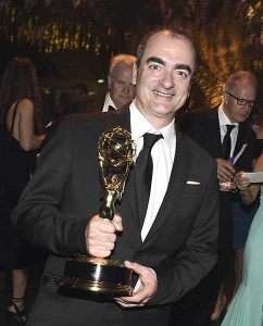 """Composer Victor Reyes wins an Emmy for his """"Night Manager"""" theme"""