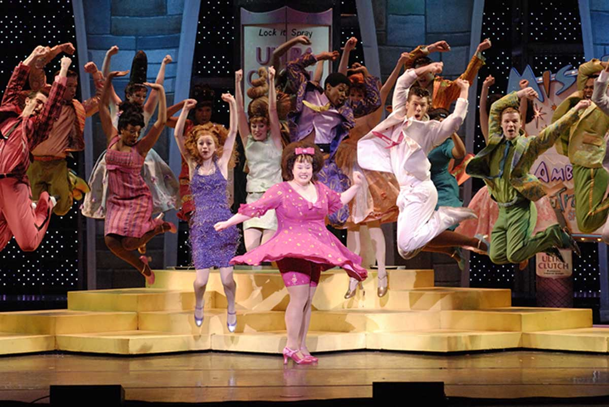 Plus-sized Tracy Turnblad ( Maddie Baillio) takes the stage by storm.