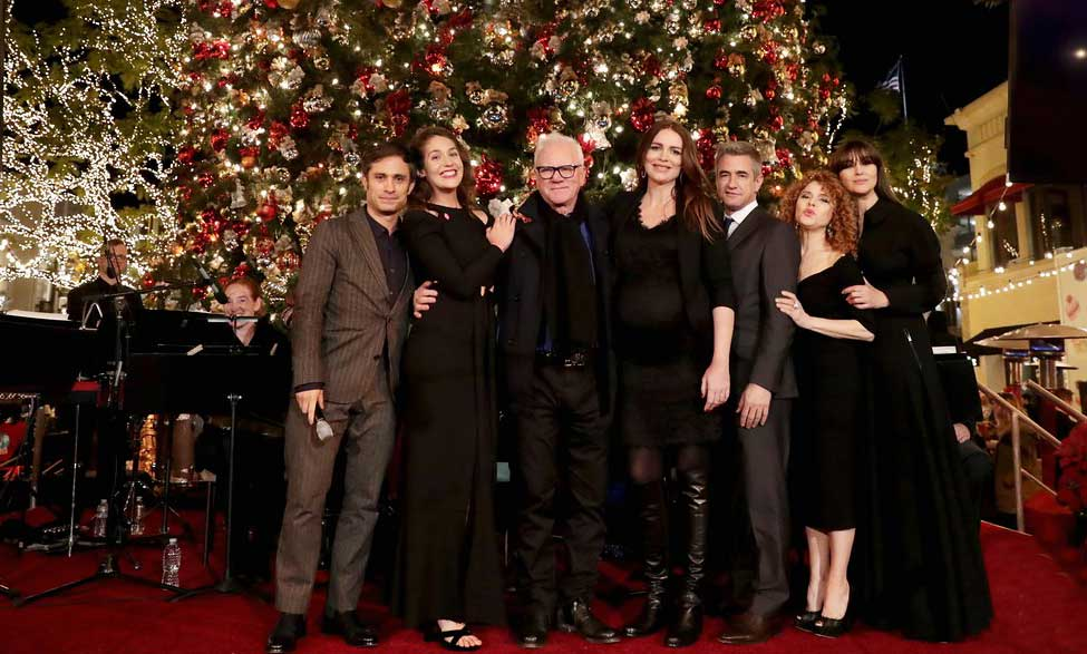 "On hand for the season 3 premiere of ""Mozart in the Jungle"" at The Grove were cast members Gael García Bernal, Lola Kirke, Malcolm McDowell, Saffron Burrows, Dermot Mulroney, Bernadette Peters and Hannah Dunne."