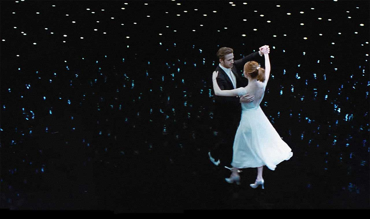 Ryan Gosling and Emma Stone help dance La La Land to 14 Oscar nominations, including 3 for music.