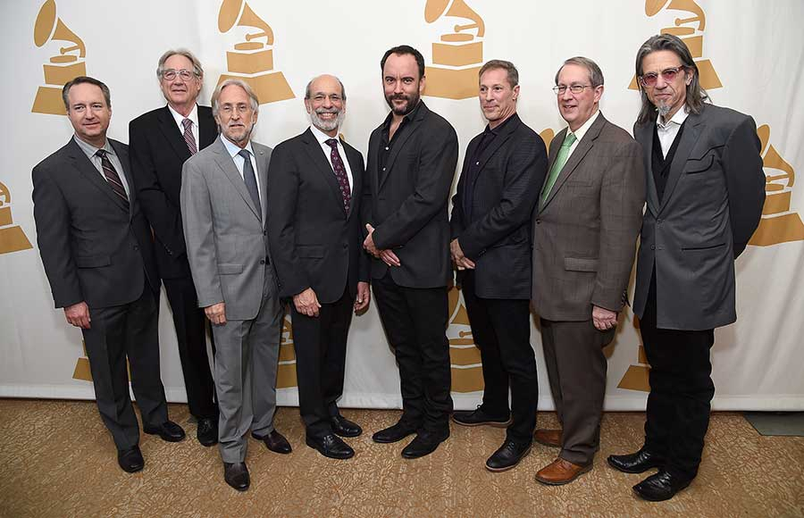 Honoree Eliott Groffman (third from left)