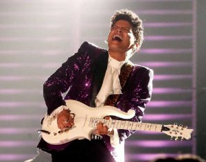 Bruno Mars plays Prince. (Photo: Christopher Polk/Getty Images for NARAS)