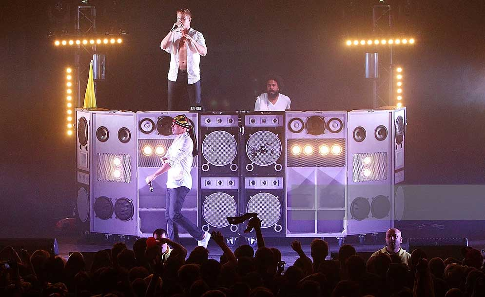 Major Lazer perform in London