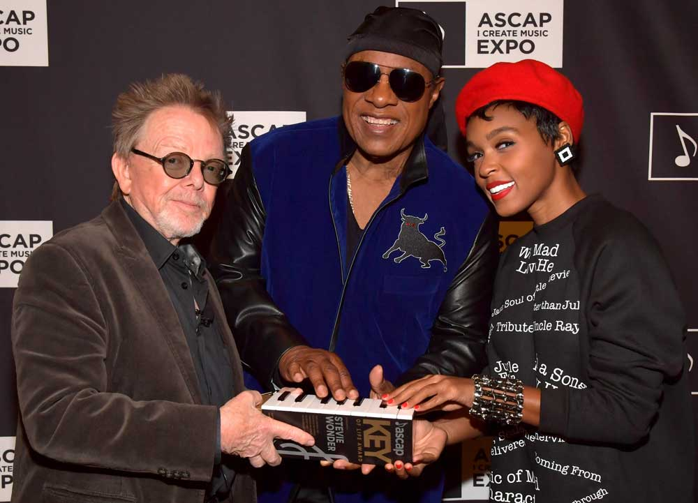 Paul Williams, Stevie Wonder and Janelle Monae