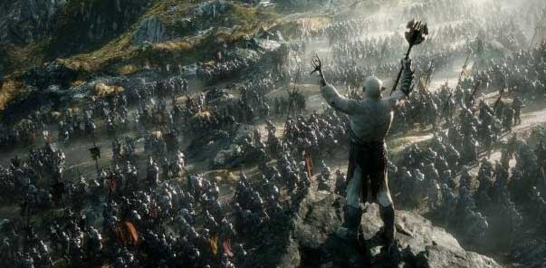 The giants are coming! (Photo courtesy New Line Cinema/Lord of the Rings)
