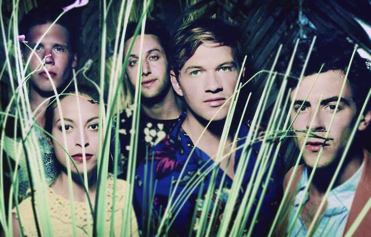 Synth pop group St. Lucia is based in Brooklyn, although frontman Jean-Philip Grobler hails from South Africa. (Photo courtesy Columbia Records)