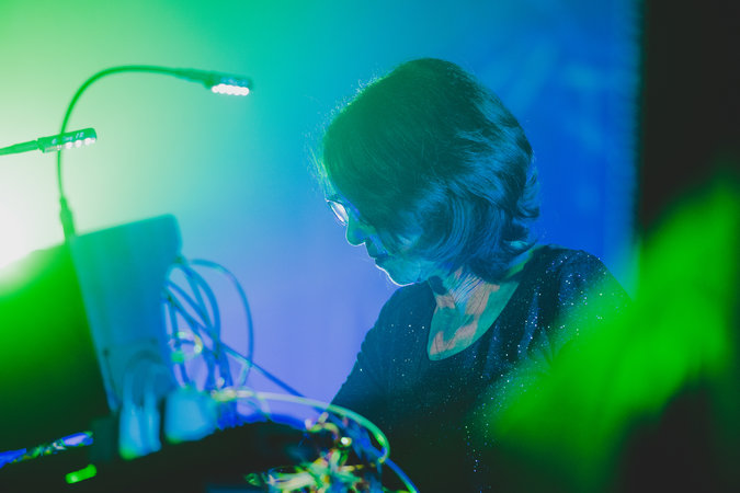 Suzanne Ciani, recipient of the Moog Innovator Award. (Photo: George Etheredge for The New York Times)