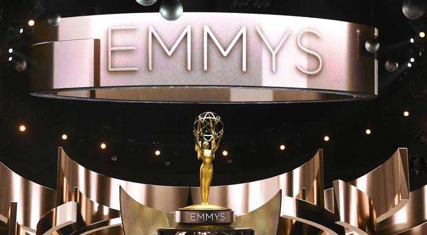emmy statuette on a stage