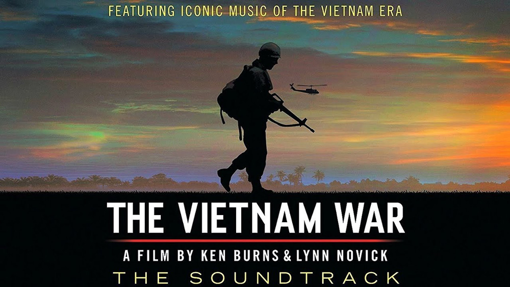 "Cover for the soundtrack to Ken Burns' ""The Vietnam War"""