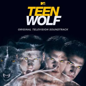 Teen Wolf soundtrack cover features a wolf head morphing into that of actor Tyler Posey