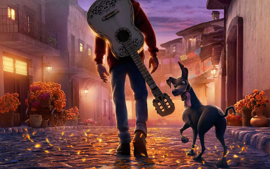 Teaser poster image from the animated film Coco